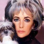 Liz Taylor & Her Dog